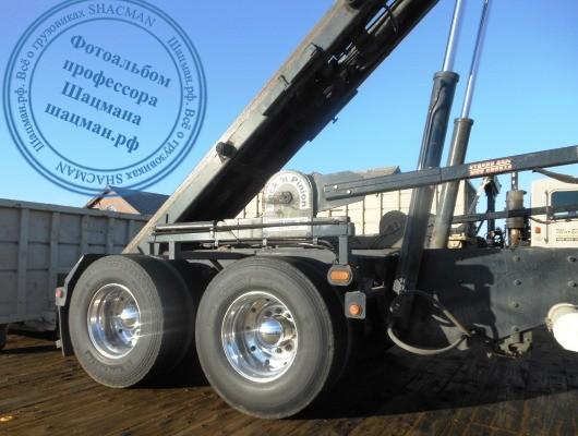 Гидравлический механиз управления пологом для кузова грузового автмобиля