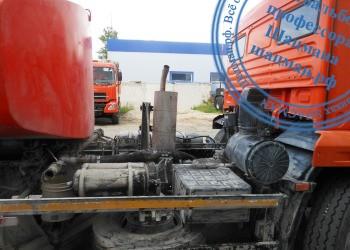 Цистерна КО-829А1 на шасси КАМАЗ, вид справа