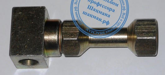 Переходник для заправочного оборудования CNG для штуцера NGV2 на стандарт TK4