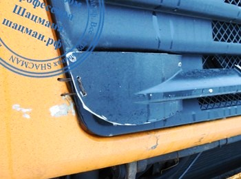Кустарный ремонт кабины SHACMAN