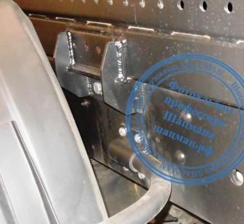 Кронштейн крепление мультилифта PALFINGER PH T20Pi к раме КАМАЗ-6520