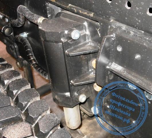 Дополнительные опоры мультилифта PALFINGER PH T20Pi на шасси КАМАЗ-6520