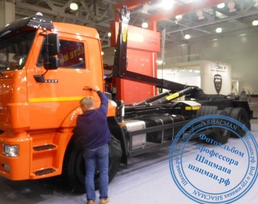 Мультилифт PALFINGER PH T20Pi на шасси КАМАЗ-6520