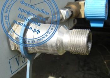Штуцер NGV2 стандарта ISO14469-2 оборудования для заправки сжатым метаном CNG