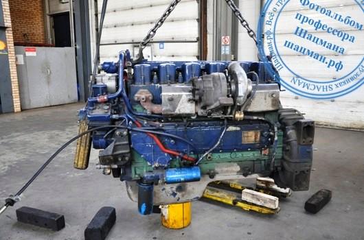Двигатель WP с блоком цилиндров HOWO
