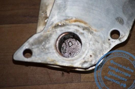 Стружка в системе смазки двигателя WP