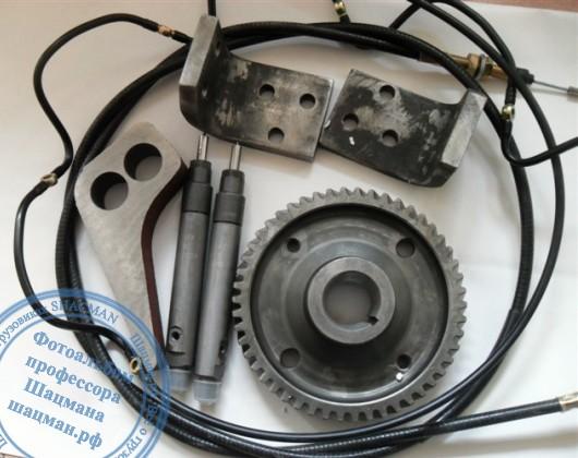 Состав комлекта для перевода мотора WP10 в категорию Евро2