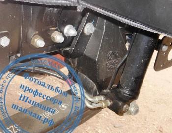 Кронштейн 99100520010 передней рессоры автомомбиля SHACMAN